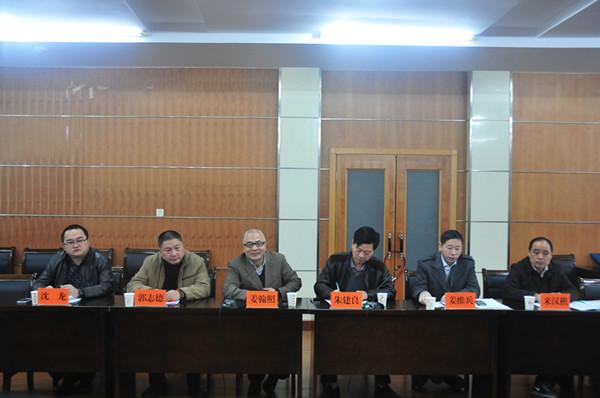 2月13日,由浙江水利水电学院副院长姜翰照任组长的省教育厅高校学